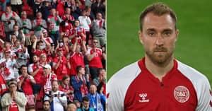 Danish FA Share Update On Christian Eriksen's Condition After On-Pitch Collapse
