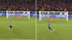 Jorginho Scores Ice-Cold Penalty As He Fools Spain Goalkeeper Unai Simon