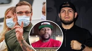 Floyd Mayweather Names Staggering Price To Fight Khabib Nurmagomedov Or Conor McGregor