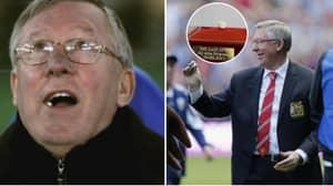 Sir Alex Ferguson's Final Chewing Gum Raised £390,000 For Charity