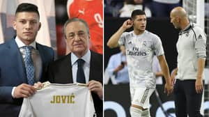 Real Madrid's £62 Million Signing Luka Jovic Could Be Set To Leave The Club On Loan This Summer