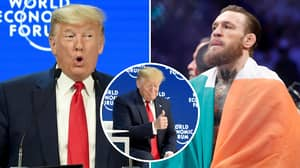 Conor McGregor Shares Bizarre Exchange With US President Donald Trump After UFC 246 Win