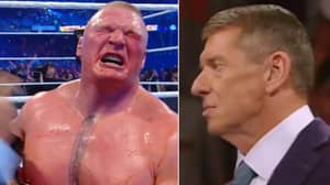 There Was A 'Backstage Incident' Between Brock Lesnar And Vince McMahon After WrestleMania