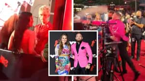 Conor McGregor And Machine Gun Kelly Nearly Get Into A Fight On VMA Red Carpet