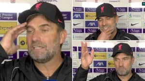 Jurgen Klopp Delivers Incredible Analysis of Man City Game, Shows Why He's One Of The Best In The Business