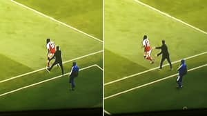 Arsenal Fans Convinced Mikel Arteta 'Pushed' An Injured Thomas Partey Back On The Pitch