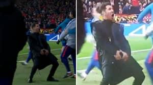 Diego Simeone Made Sure Everyone Knows Atletico Madrid Have Cojones