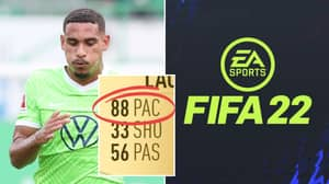 Meet The Centre-Back Who Has 88 Pace On FIFA 22, His Card's Unreal