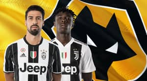 Wolves Are Trying To Sign Juventus Pair Sami Khedira And Moise Kean