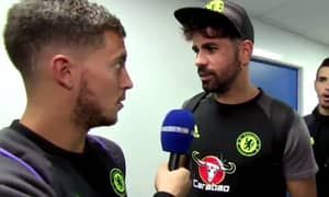 WATCH: Hazard And Costa's Interview Is Most Entertaining They've Been In Ages