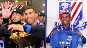 Carlos Tevez Has Earned A Truly Staggering Amount During 12 Month Spell At Shanghai Shenhua