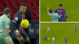 Neymar Gets Instant Revenge On Player Who Fouled Him
