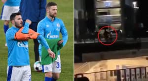 Schalke Players Attacked By Their Own Fans In Terrifying Scenes After Relegation