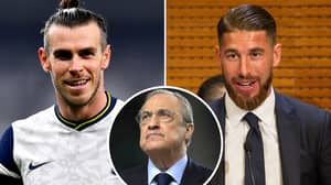 Sergio Ramos Told By Real Madrid To 'Take A Wage Cut' So They Can Pay Gareth Bale's Wages