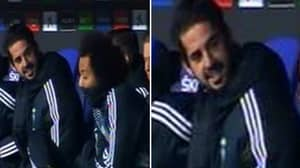 Isco Explains To Real Madrid Substitutes About Why He Isn't Playing
