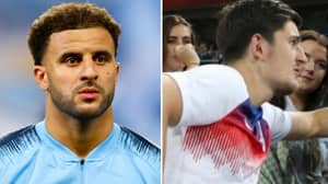 Kyle Walker Deletes Tweet Mocking Liverpool After Draw With Leicester