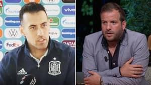 Sergio Busquets Responds To Rafael Van Der Vaart Calling Spain A 'Horrible' Team In Post-Match Analysis