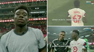 A Stunned Alphonso Davies Was Mic'd Up For MLS All-Star Game And He Was A Massive Fanboy