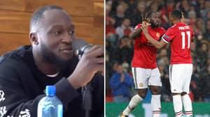 Romelu Lukaku Seems To Aim Dig At Former Teammate Anthony Martial