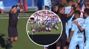 Referee Sparked Controversy In Bolivian League After Using Non-Existent VAR To Award Late Penalty