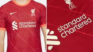 Liverpool's Official 2021/2022 Home Kit Has Leaked Online With 'Zig-Zag' Detail