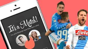 Napoli Announce Partnership With Tinder, Offer Fans Chance To Date Player