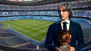Luka Modric Wins The Ballon d'Or