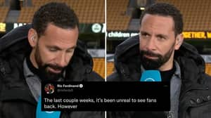 Rio Ferdinand Claims Wolves Fan Racially Abused Him With 'Monkey Chant' During Man United Match