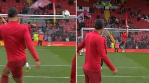 Alisson Has Eyes On The Back Of His Head As He Makes Psychic Save Against Van Dijk