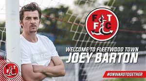 Fleetwood Town Appoint Joey Barton As New Head Coach