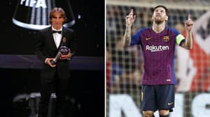 Fan Points Out How Classy Lionel Messi's The FIFA Best Award Votes Were