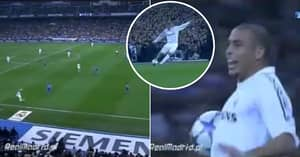 When David Beckham Assisted Ronaldo With His Craziest Ever Pass