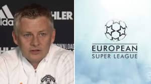 Ole Gunnar Solskjaer Discusses Opposition To European Super League