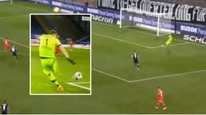 Bayer Leverkusen Goalkeeper Lukas Hradecky Scores The 'Own Goal Of The Century'