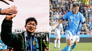 50-Year-Old Striker Kazuyoshi Miura Signs New Contract With Japanese Club