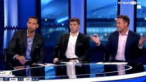 Owen Makes Joke About Buffon, Rio And Gerrard's Reaction Says It All