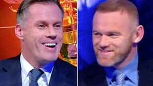 Wayne Rooney Rinses Jamie Carragher Mere Seconds Into MNF Appearance