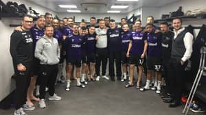 Derby County Invite Charlie To Dressing Room Ahead Of Match In Class Gesture