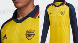 Adidas Set To Release Stunning Retro Arsenal Shirt
