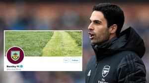 Burnley Change Their Twitter Header After Mikel Arteta's Comments And It's Pure Sh*thousery