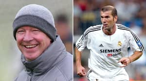Sir Alex Ferguson Once Tried To Tap Up Zinedine Zidane For Manchester United