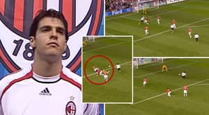Peak Kaka's Stunning Highlights Vs Man United Showed How Nobody 'Could Handle His Pace And Vision'