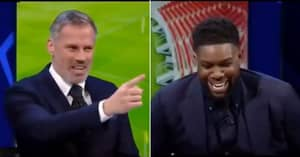 Jamie Carragher Shuts Down Micah Richards With Devastating Champions League Dig