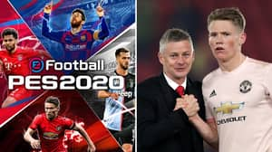 Scott McTominay Reveals His Reaction To Featuring On PES 2020 Cover With Lionel Messi