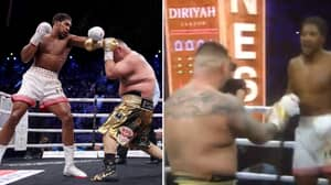 """Fans Accuse Anthony Joshua Of """"Running"""" Away From Andy Ruiz Jr"""