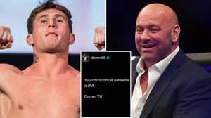 Dana White Reacts To Darren Till's Instagram Post Amid UFC Star's Transgender Meme Controversy