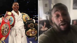 Deontay Wilder Responds To Anthony Joshua Calling Him Out