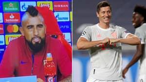 Arturo Vidal's Pre-Match Comments Look Silly After Bayern Munich Hammer Barcelona 8-2