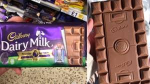 Cadbury's Release Incredible New Football Pitch Chocolate Bar