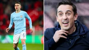 Gary Neville Loved What Phil Foden Did Immediately After His Chelsea Cameo